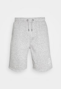 Brave Soul - TRISTAN - Pantalon de survêtement - light grey marl/optic white - 3