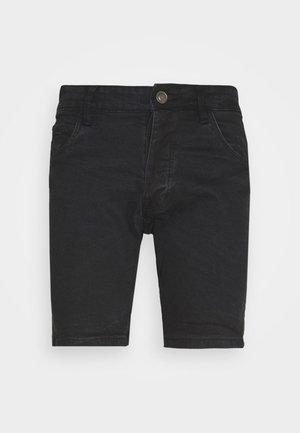 RUBINSTRIPE - Shorts di jeans - charcoal wash