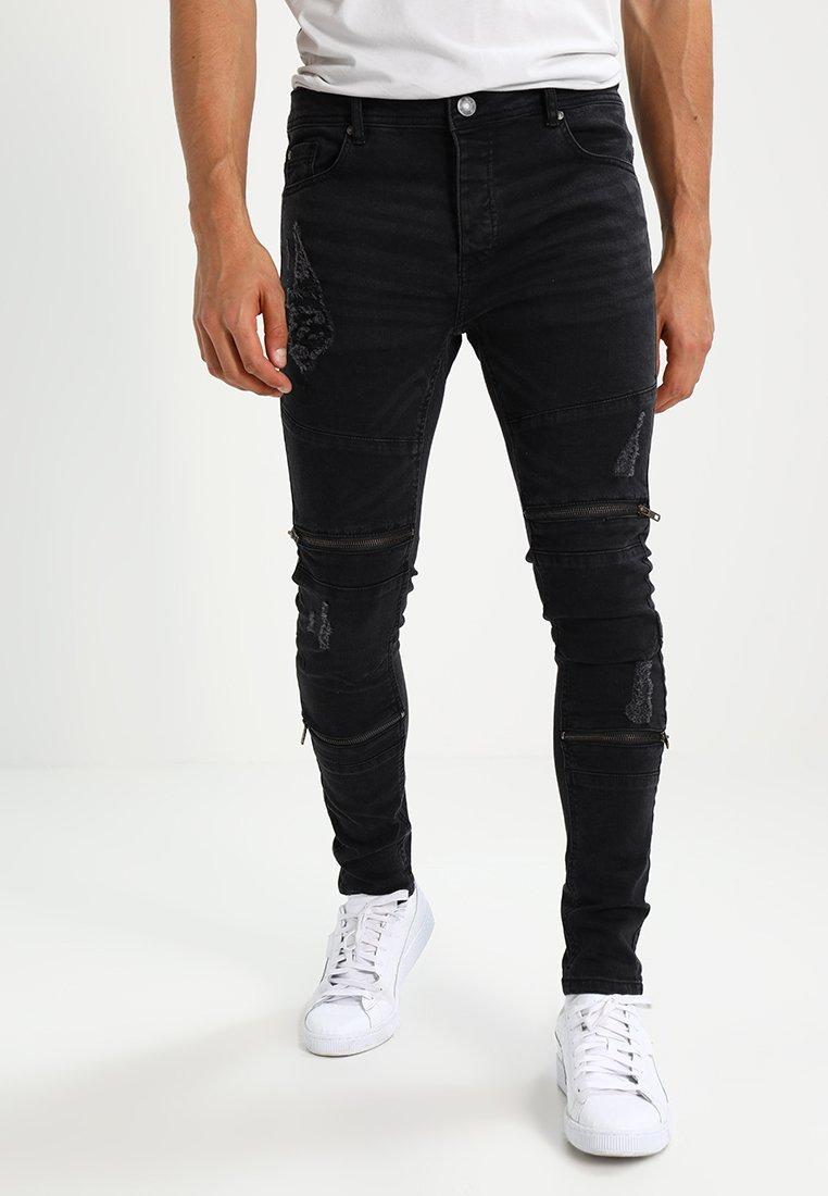Brave Soul - ELBA - Jeans Skinny Fit - charcoal grey