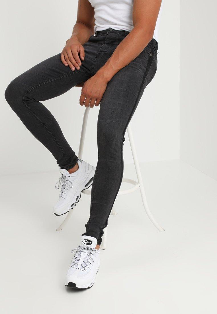 Brave Soul - EZRA - Slim fit jeans - charcoal