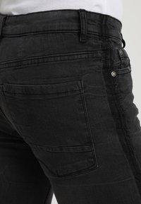Brave Soul - EZRA - Jeans slim fit - charcoal - 5