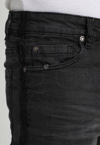 Brave Soul - EZRA - Jeans slim fit - charcoal - 3