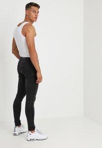 Brave Soul - EZRA - Slim fit jeans - charcoal - 2
