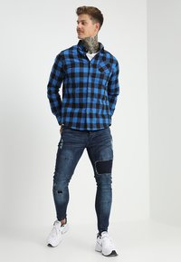 Brave Soul - SARNEN - Jeans Skinny Fit - dark blue - 1