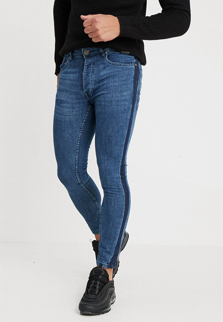 Brave Soul - EZRA - Jeans Skinny Fit - blue