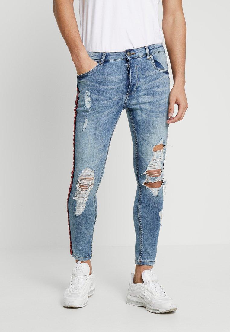 Brave Soul - BAILEYTAPE - Jeans Skinny Fit - blue