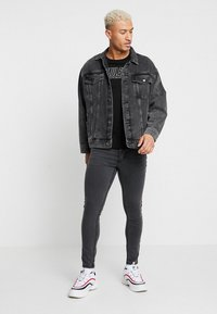 Brave Soul - JOHNNY - Jeans Skinny Fit - charcoal wash - 1