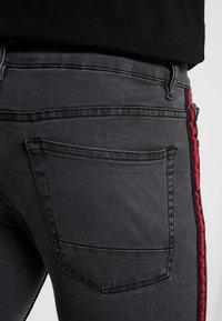 Brave Soul - JOHNNY - Jeans Skinny Fit - charcoal wash - 5