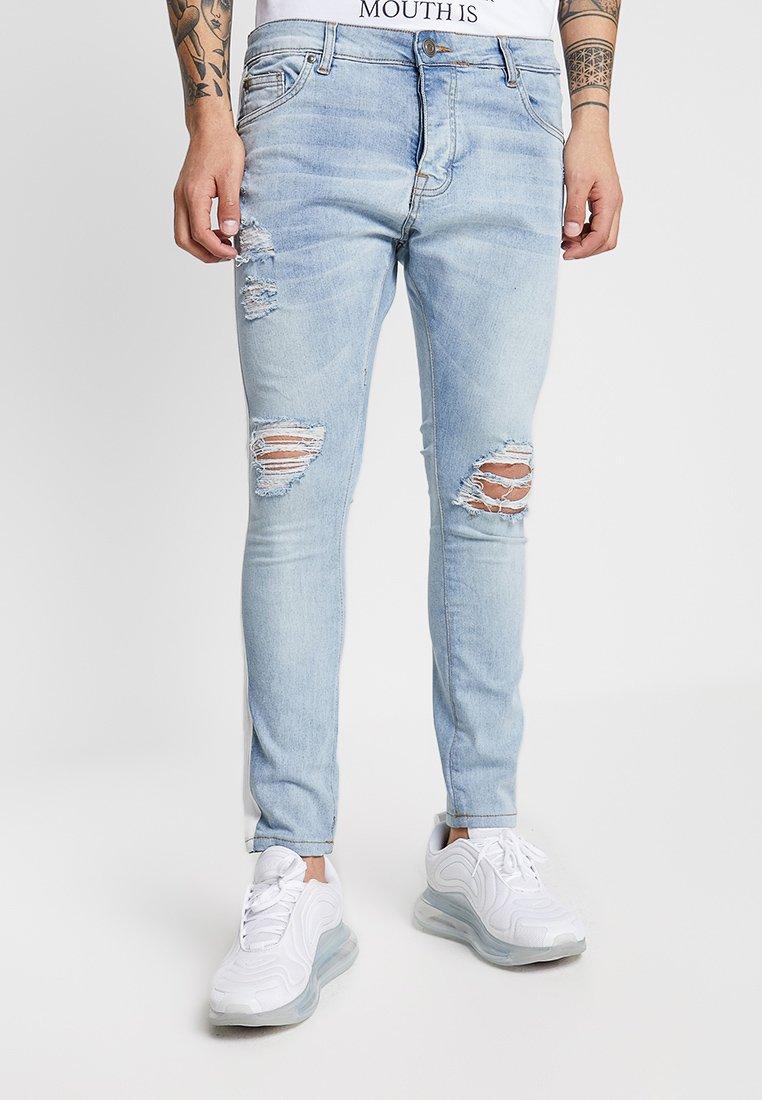 Brave Soul - MEMPHIS - Jeans Skinny Fit - light blue wash