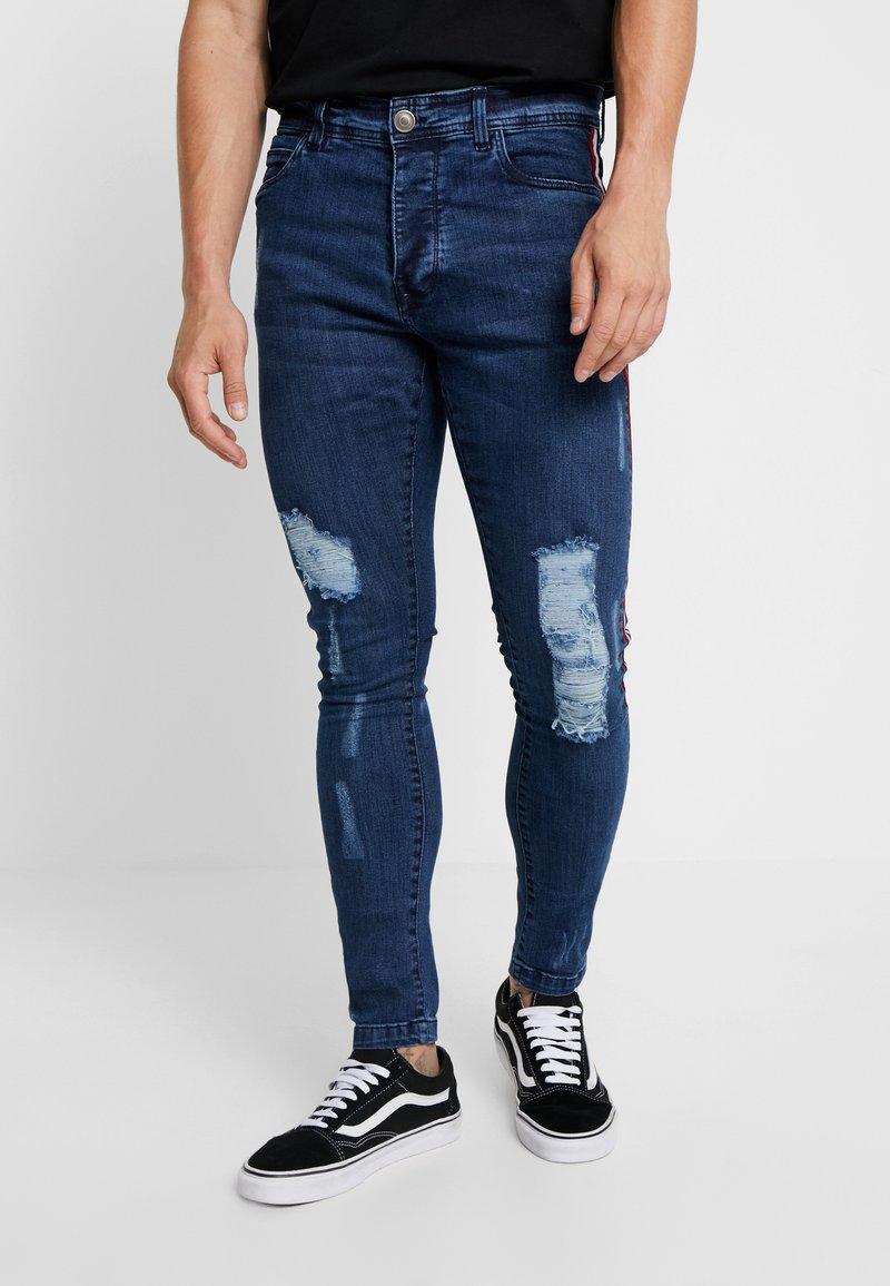 Brave Soul - CHASE - Jeans Skinny Fit - blue