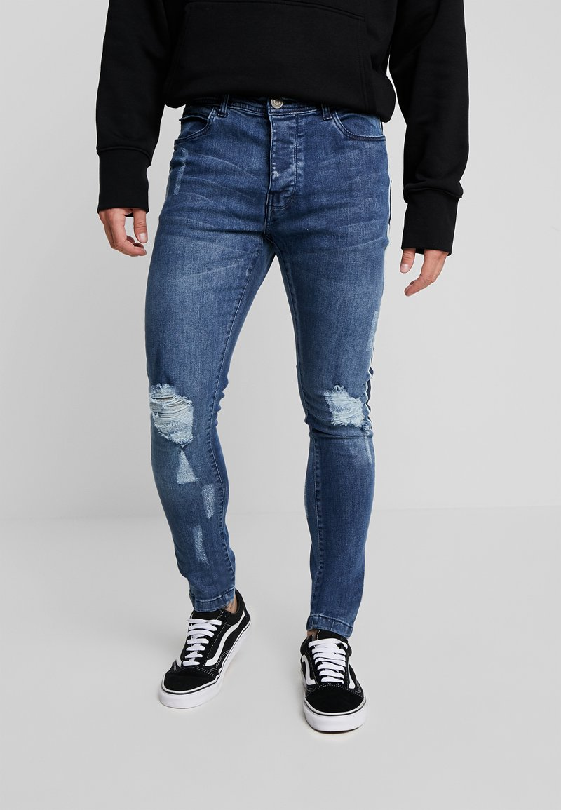Brave Soul - JONAH - Jeans Skinny Fit - blue