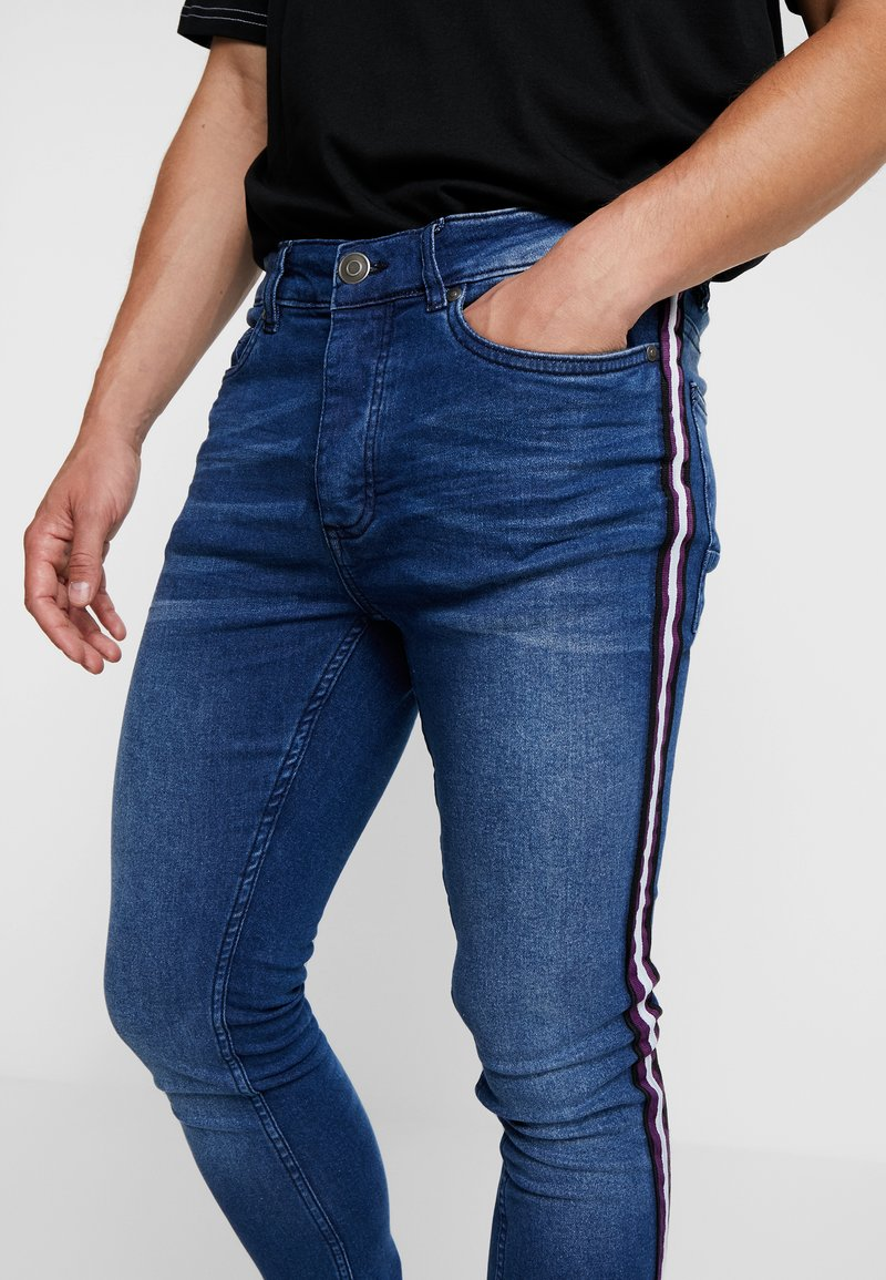 Brave Soul - CONWAYTAPE - Jeans Skinny Fit - blue