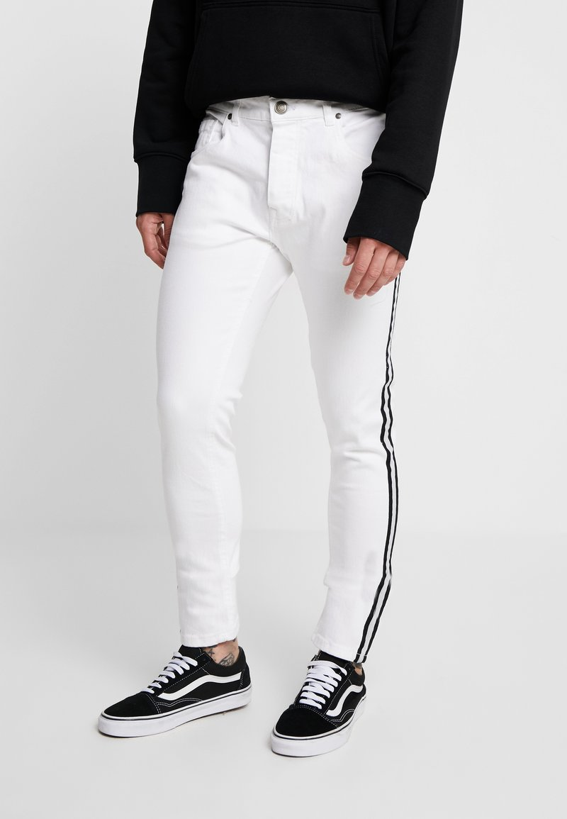Brave Soul - HEAT - Slim fit jeans - white