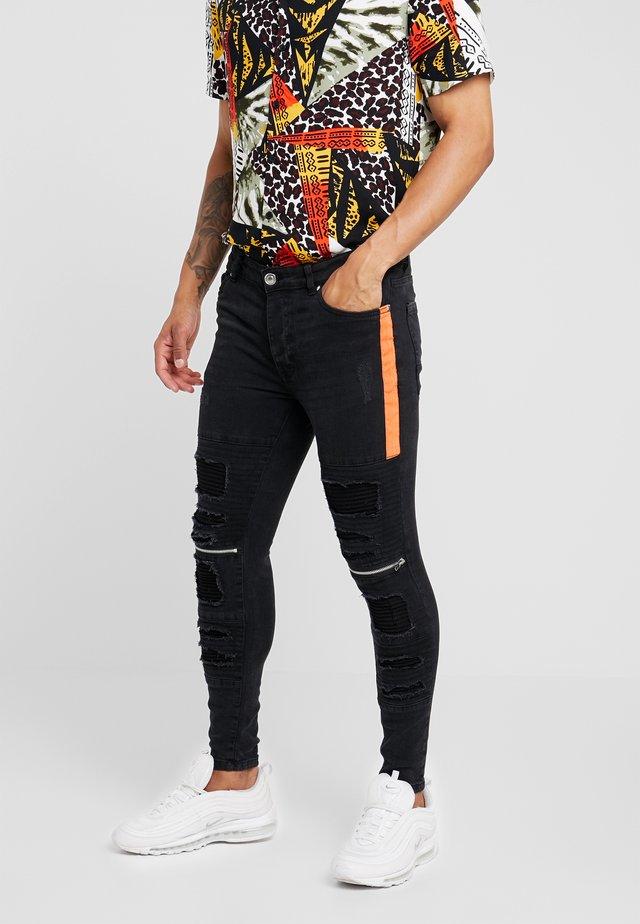RUBEN - Jeans Skinny Fit - charcoal