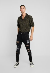 Brave Soul - CILLIAN - Jeans Skinny Fit - charcoal - 1