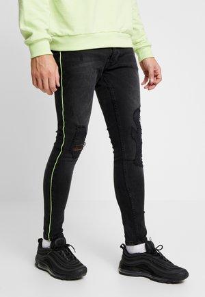 FLETCHCORDN - Jeans Skinny Fit - charcoal wash