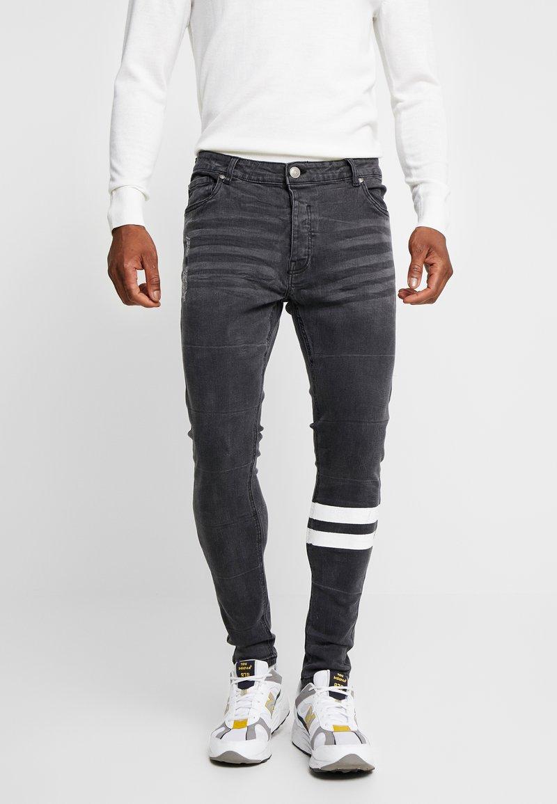 Brave Soul - JORDAN - Jeans Skinny Fit - black wash
