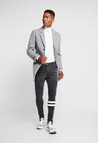 Brave Soul - JORDAN - Jeans Skinny Fit - black wash - 1