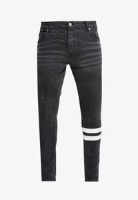Brave Soul - JORDAN - Jeans Skinny Fit - black wash - 4