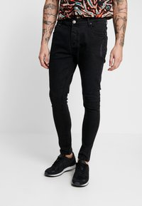 Brave Soul - HAMILTON - Jeans Skinny Fit - black wash - 4