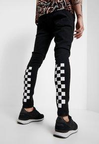 Brave Soul - HAMILTON - Jeans Skinny Fit - black wash - 0
