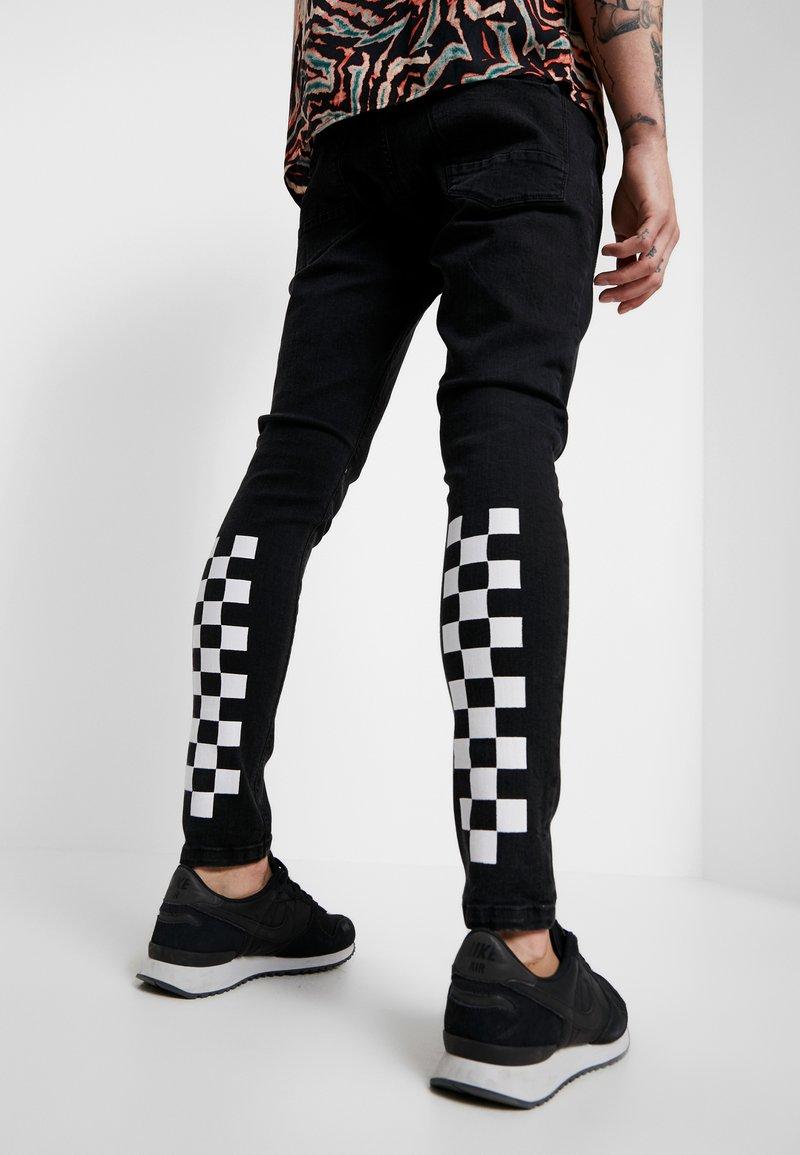 Brave Soul - HAMILTON - Jeans Skinny Fit - black wash