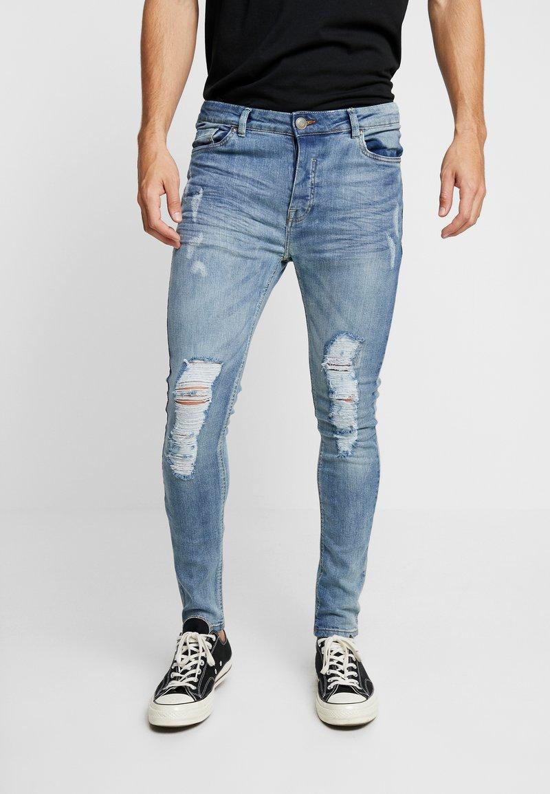 Brave Soul - KAI - Jeans Skinny - mid blue