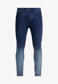 Brave Soul - CLARK - Jeans Skinny Fit - blue dip dye - 4