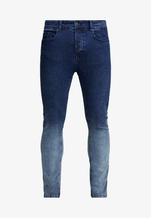 CLARK - Skinny džíny - blue dip dye