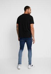 Brave Soul - CLARK - Jeans Skinny Fit - blue dip dye - 2