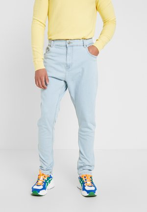 JAMIE - Relaxed fit jeans - light blue denim