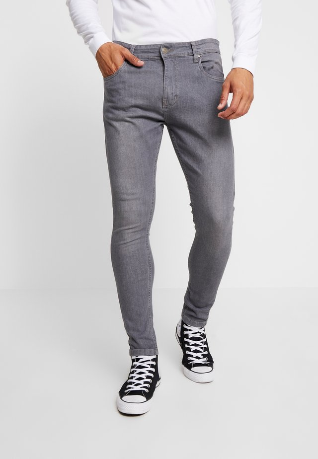 MICHAEL - Skinny džíny - light grey denim