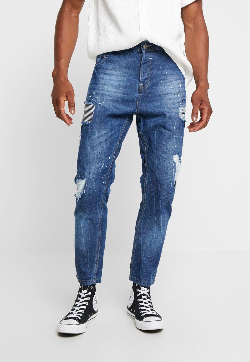 Brave Soul - RYAN - Jeans slim fit - blue wash