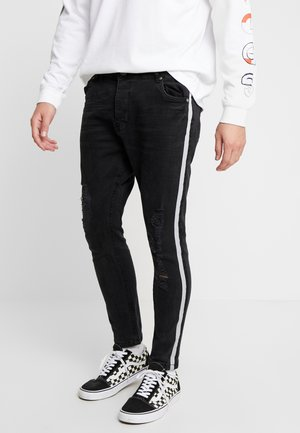 RONNIERIP - Jeans Skinny Fit - charcoal wash