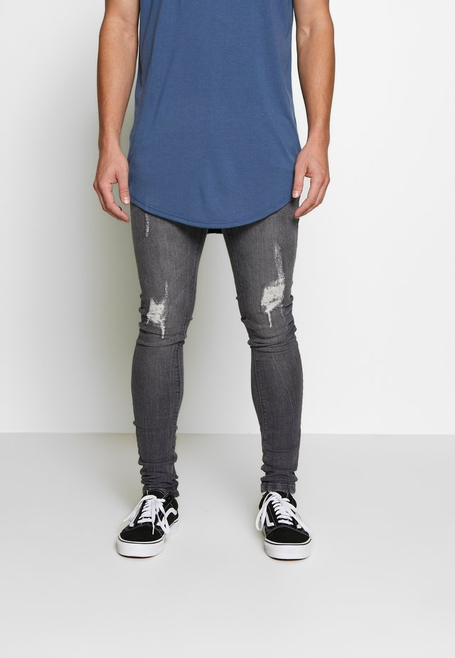 ANDRE - Jeans Skinny Fit - dark grey wash