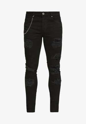 MJN DROGO - Jeans Skinny Fit - charcoal wash