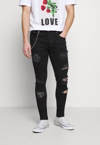 Brave Soul - MJN DROGO - Jeans Skinny Fit - charcoal wash - 0
