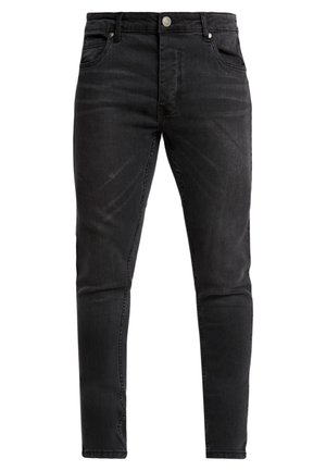 FLETCHCORD - Jeansy Skinny Fit - charcoal