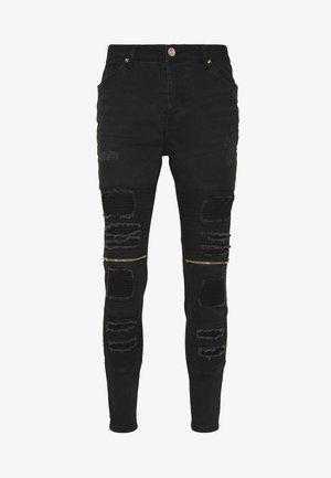 RUBINSTRIPE - Jeans Skinny - charcoal wash
