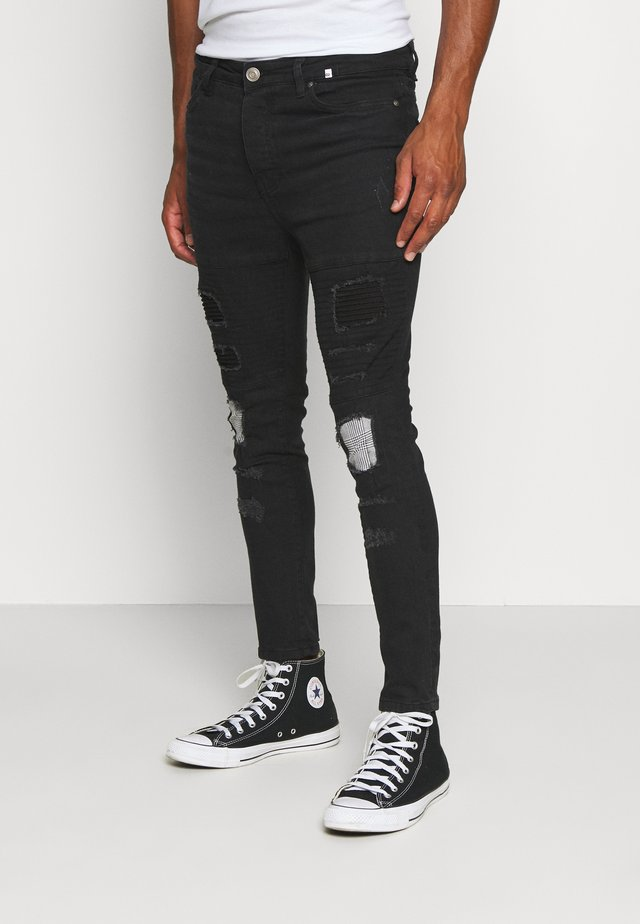PRINCE - Jeansy Skinny Fit - charcoal