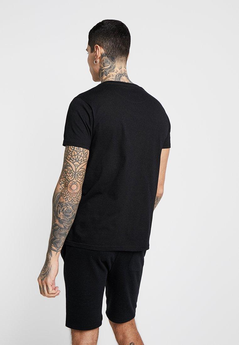 Brave Imprimé Black SavageT Soul shirt EDH29I