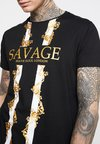 Brave Soul - SAVAGE - T-shirts print - black