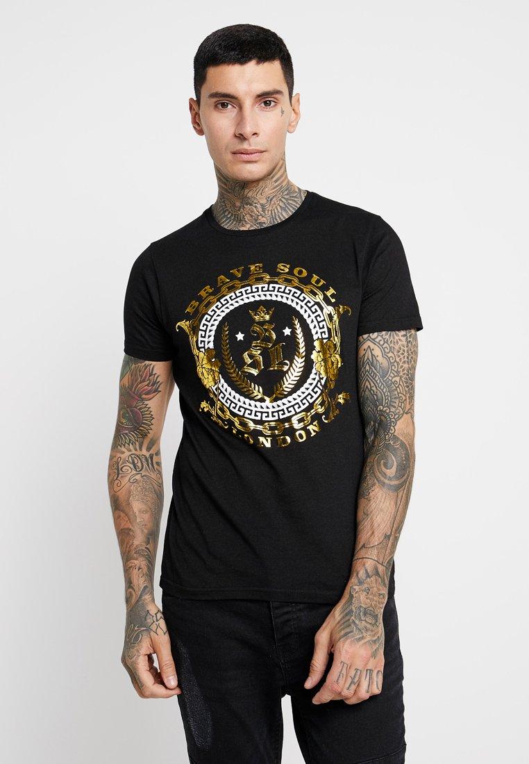 Brave Soul - HERALDIC - Camiseta estampada - black