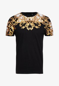 Brave Soul - SCROLL - T-shirts print - black - 3