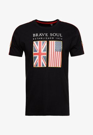 PATRIOT - T-shirt med print - black