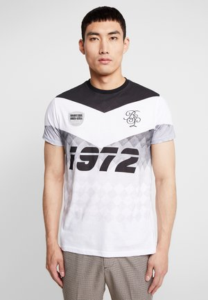 SOCCER - T-shirt con stampa - black