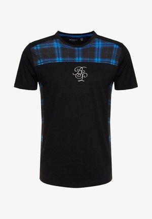 FRACTION - Camiseta estampada - blue