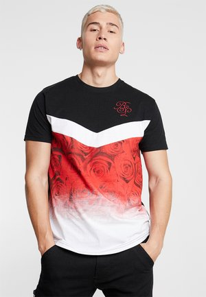 BOUQUE - T-shirt print - red