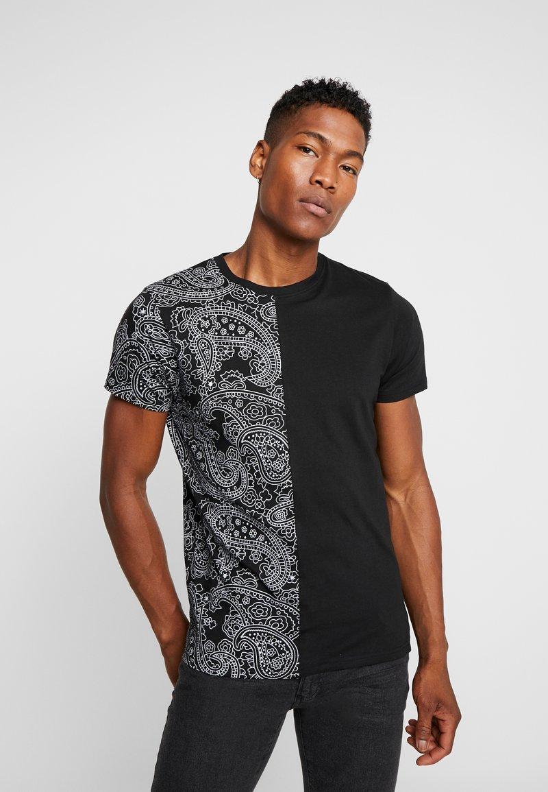 Brave Soul - MOTIF - Print T-shirt - black