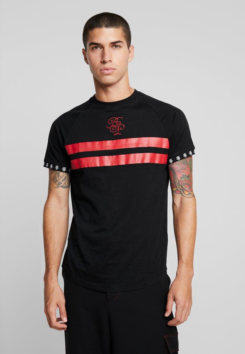 Brave Soul - PATH - Print T-shirt - black